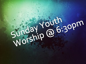 Youth Service Color Background
